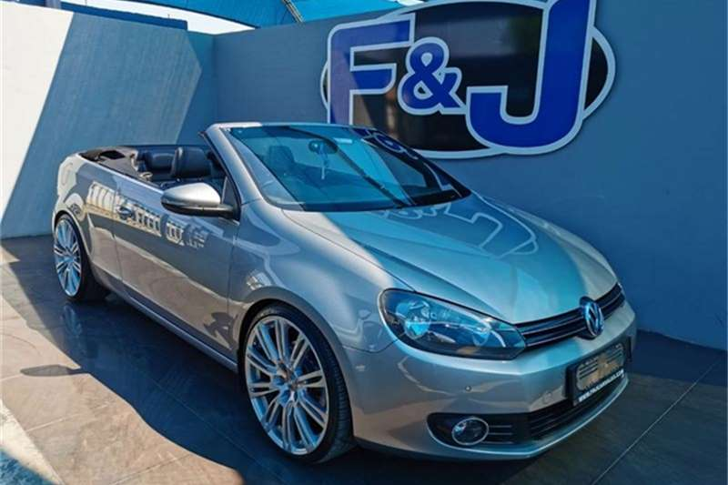 VW Golf cabriolet 1.4TSI Highline auto 2013
