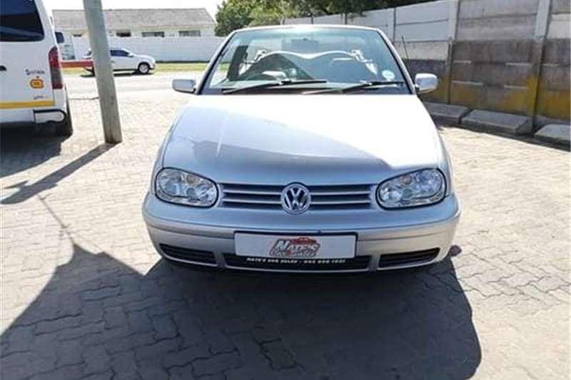 VW Golf Cabriolet 2001