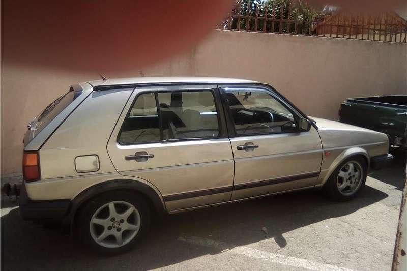 VW Golf GTI cabriolet 1989