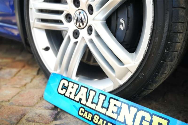 VW Golf R auto 2012