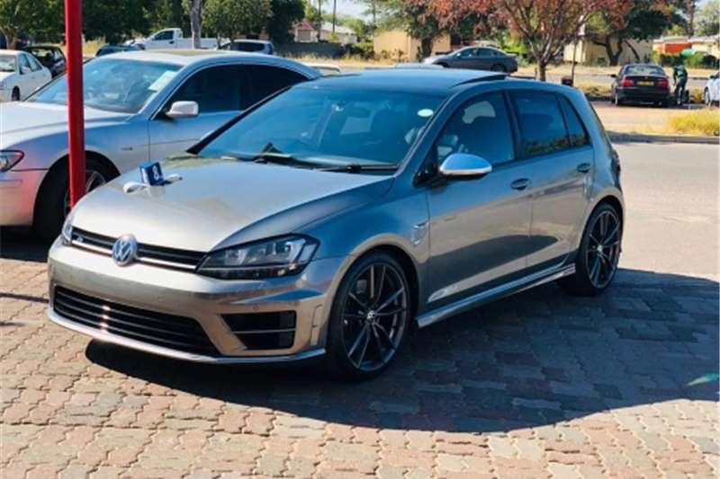 VW Golf R auto 2018