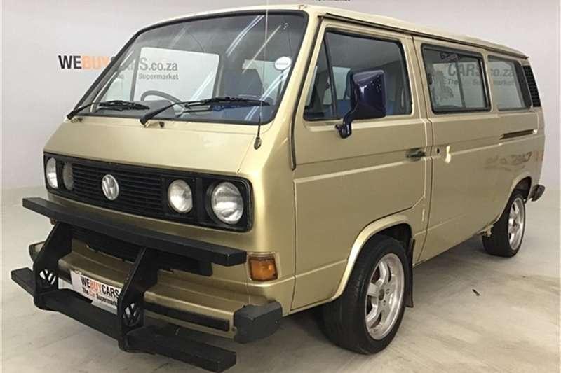 VW Kombi AND MICROBUS 1989