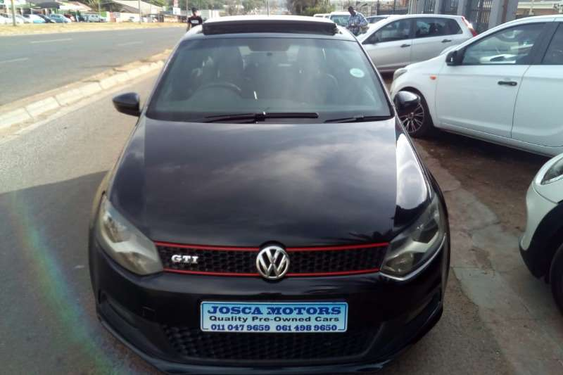 VW Polo GTI auto 2012