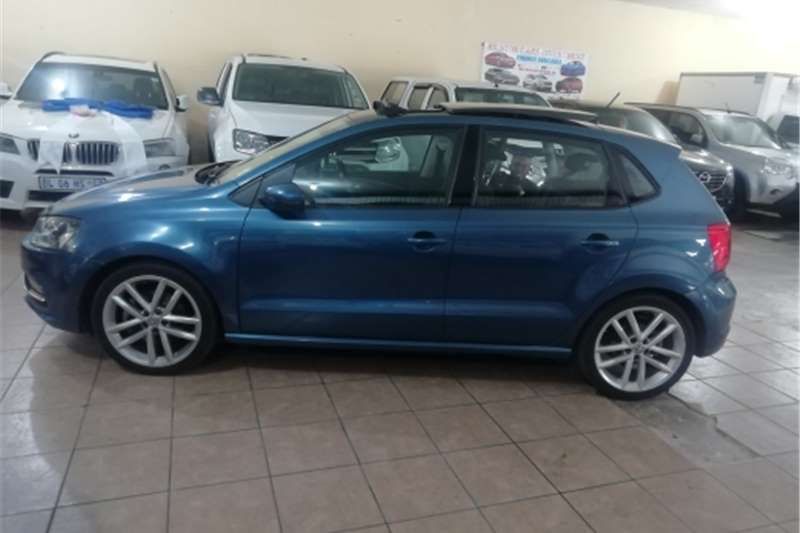 VW Polo hatch 1.2TSI Highline auto 2017