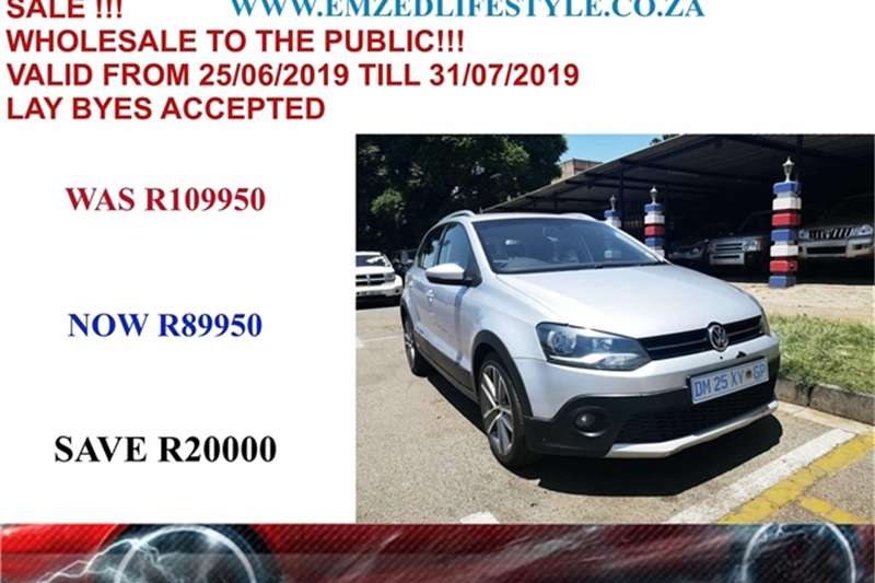 2012 VW Polo Cross  1.6TDI Comfortline