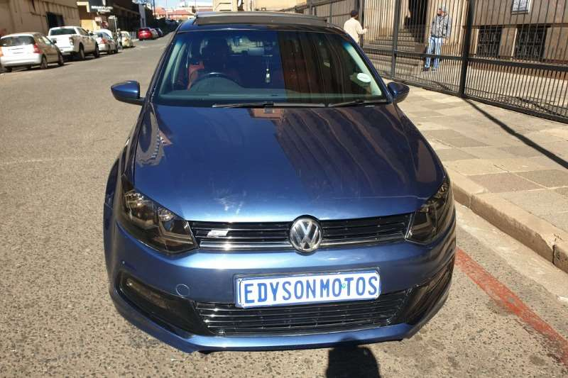 2017 VW Polo hatch 1.0TSI R Line auto