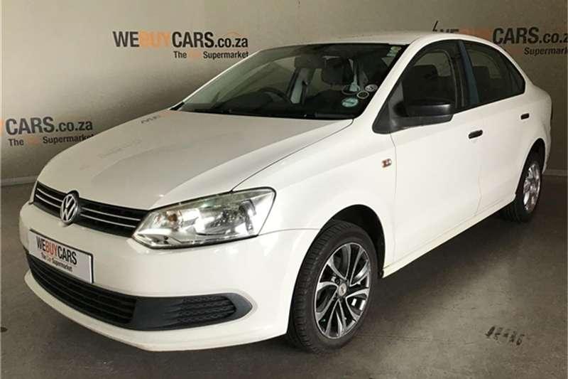 VW Polo sedan 1.6 Trendline 2012