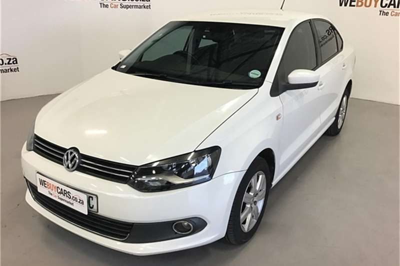 VW Polo sedan 1.6TDI Comfortline 2013