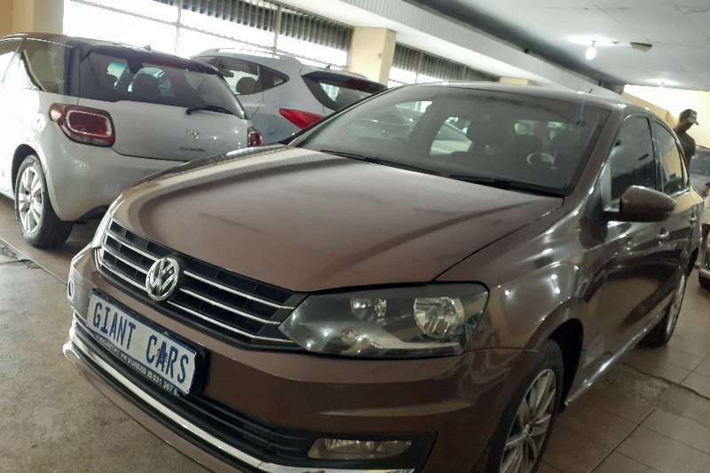 Used 2016 VW Polo Sedan POLO 1.6 COMFORTLINE