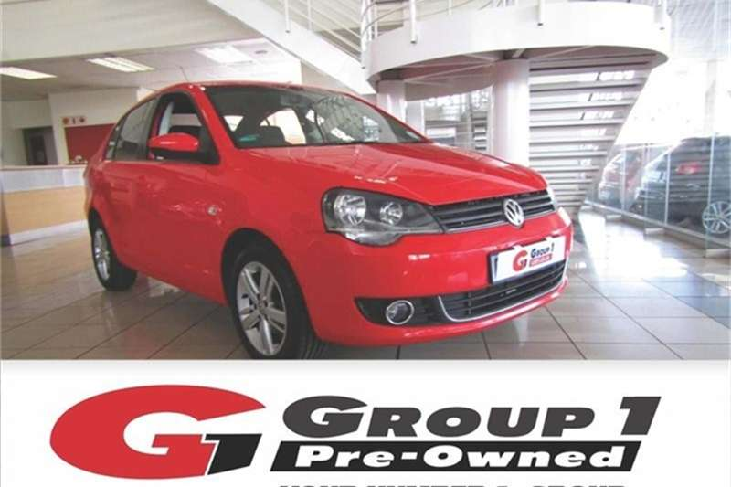 2015 VW Polo Vivo sedan 1.6 Comfortline
