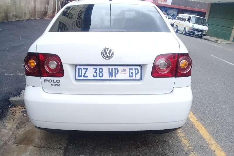 VW Polo Vivo sedan 1.4 Conceptline 2014