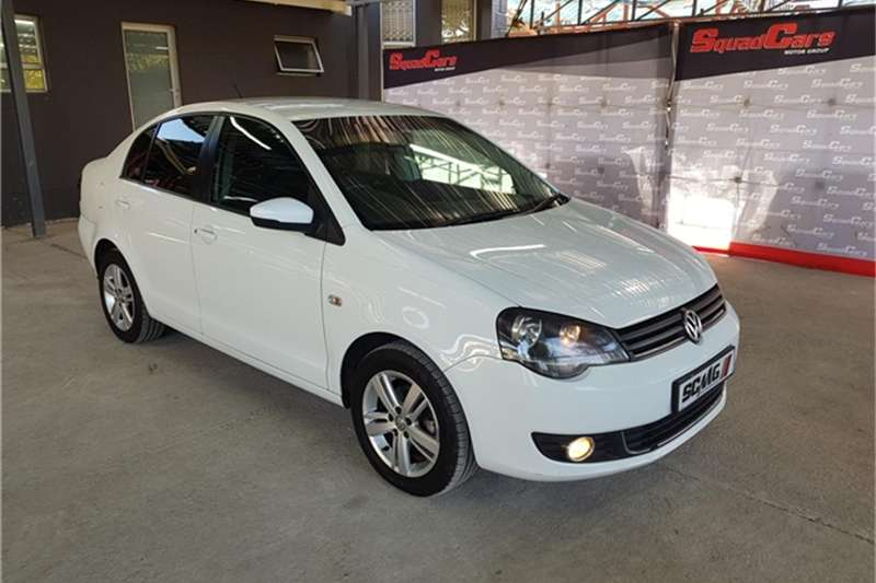 VW Polo Vivo sedan 1.6 Comfortline 2016