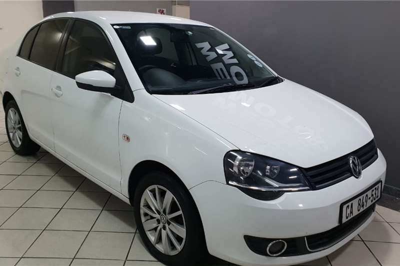 VW Polo Vivo sedan 1.6 Comfortline 2017