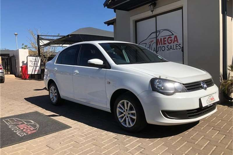 VW Polo Vivo sedan 1.6 Trendline 2016