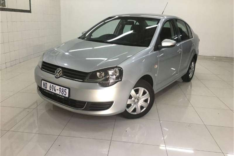 VW Polo Vivo sedan 1.6 Trendline 2017