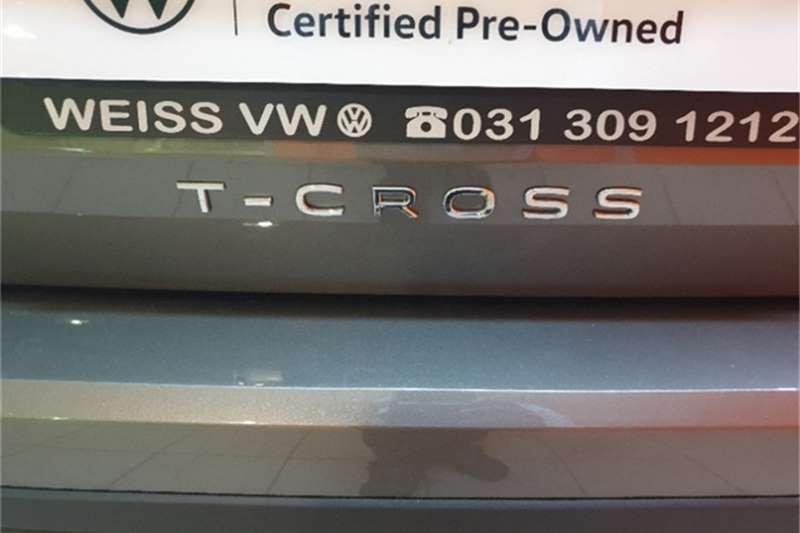 Used 2021 VW T-Cross T CROSS 1.0 COMFORTLINE DSG