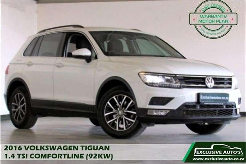 VW Tiguan 1.4TSI Comfortline 2016