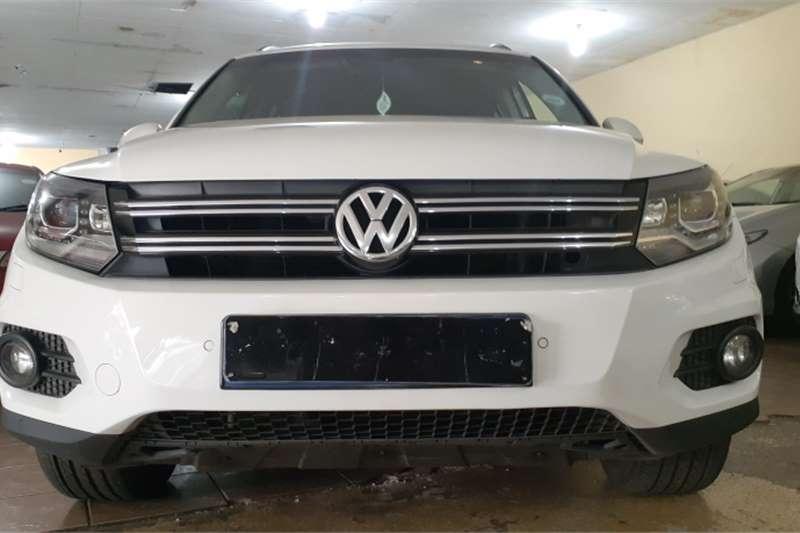 VW Tiguan 2.0TDI Sport&Style 4Motion tiptronic 2012