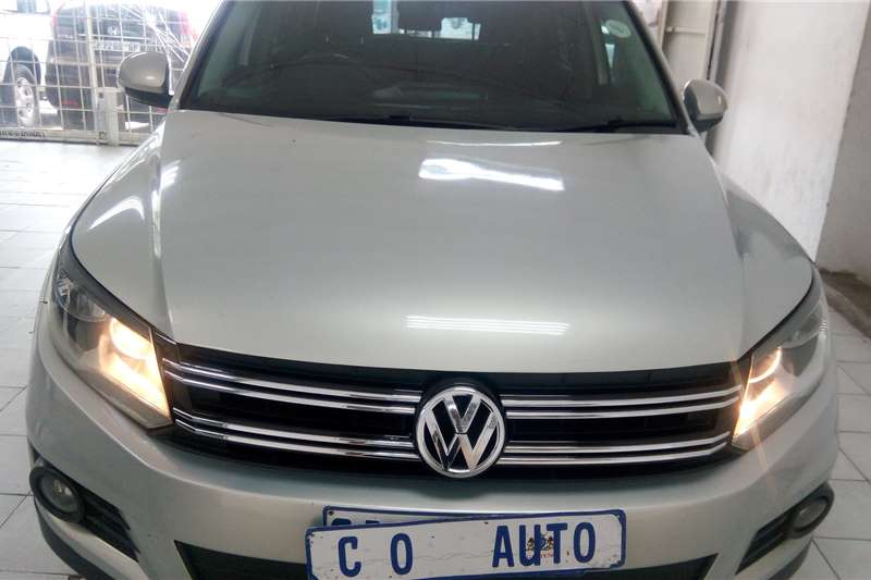 2013 VW Tiguan 2.0TDI 4Motion Highline