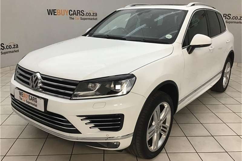 2016 VW Touareg V8 TDI Executive