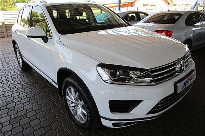VW Touareg V6 TDI Luxury 2015