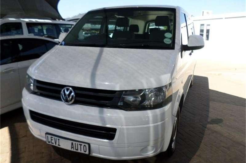 VW Transporter 2.0TDI crew bus LWB 2014