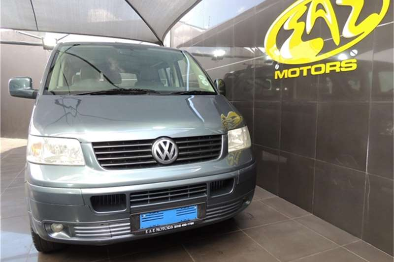 VW Transporter 2.5TDI crew bus LWB 4Motion 2007