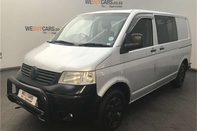VW Transporter 2.5TDI crew bus SWB 4Motion 2008
