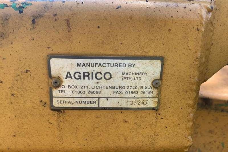 Agrico  72 Skottel Agrico HD Offset - 10m