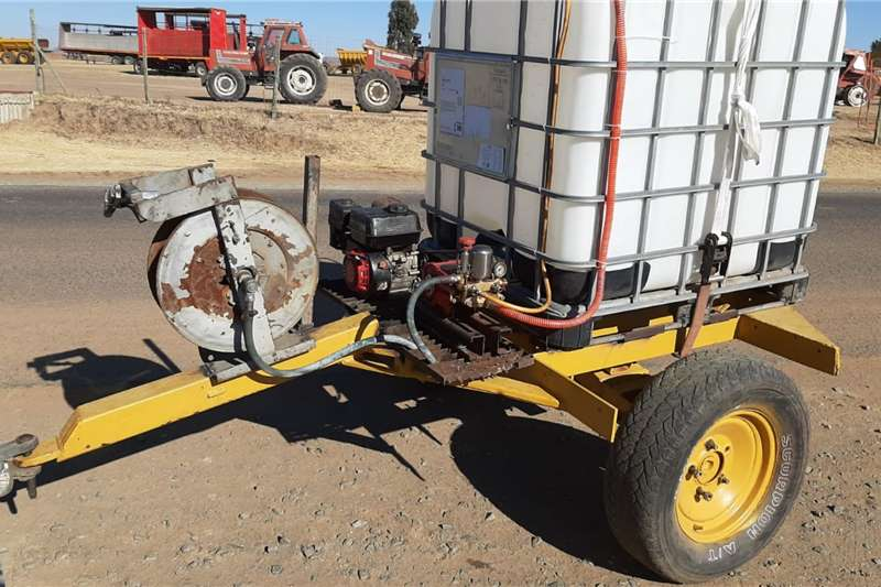 1000 L Fire Fighter Vuurspuit Agricultural trailers