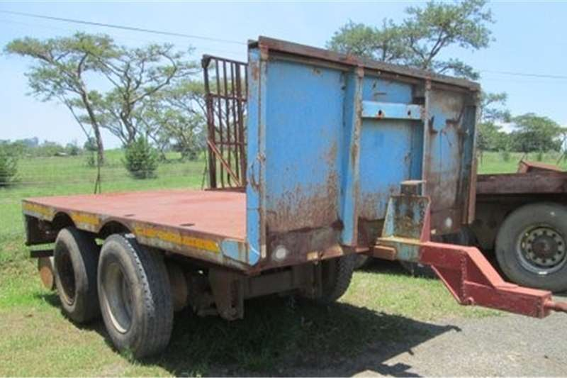 Agricultural trailers 2 Axle PUP Trailer   Great for Around the FARM!