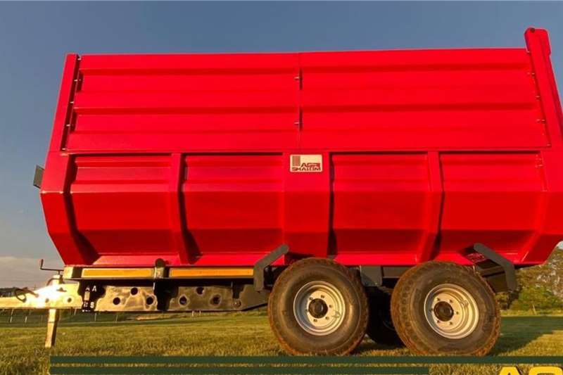 Agri Shalom 10t en 15t Hidroliese tipwaens Agricultural trailers