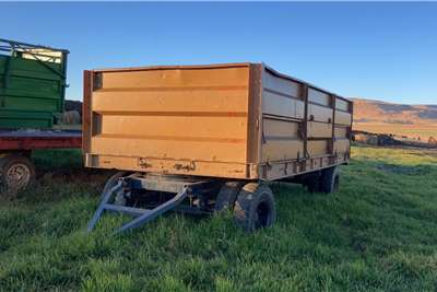 Carts and wagons 10 Ton Massa Sleepwa Mass Side Trailer Agricultural trailers