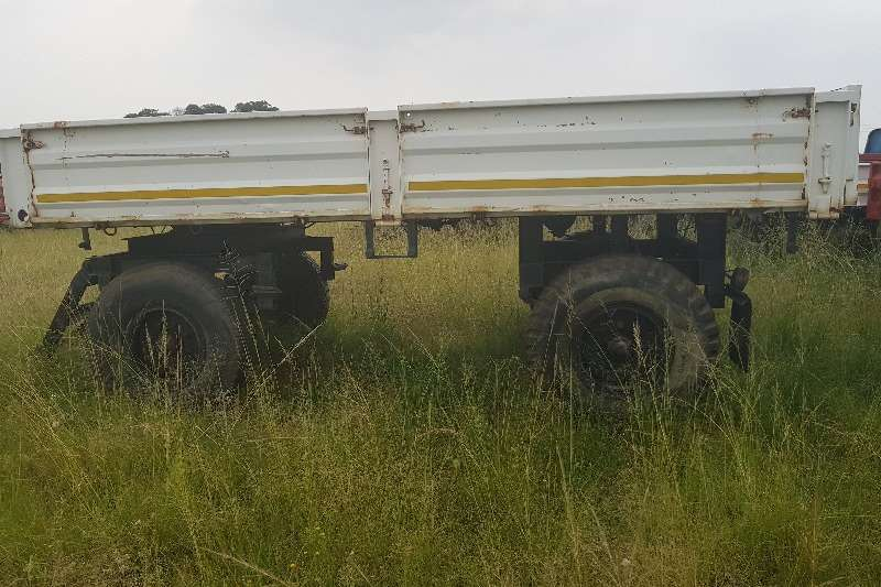 Carts and wagons 4 wheel trailer Agricultural trailers