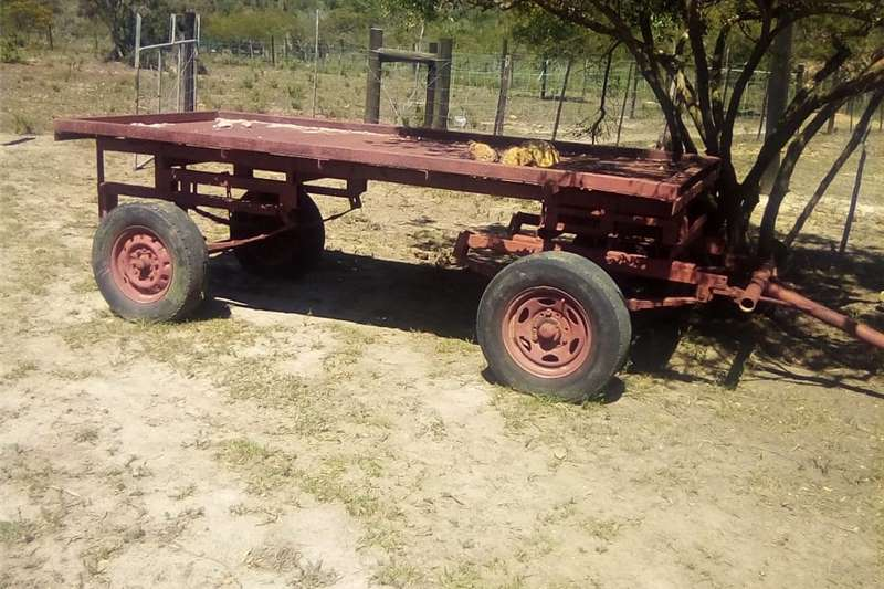Agricultural trailers Carts and wagons 4 wiel sleepwa