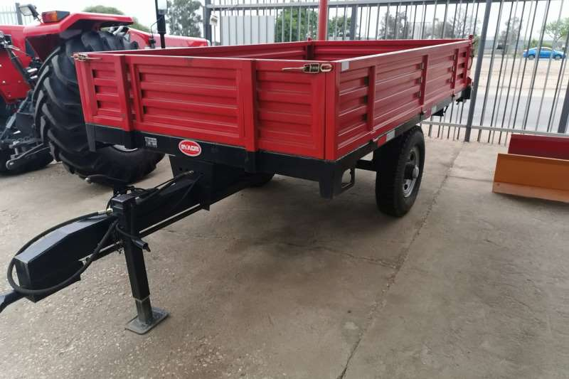 Agricultural trailers Carts and wagons Agriculture Single Axle Trailer