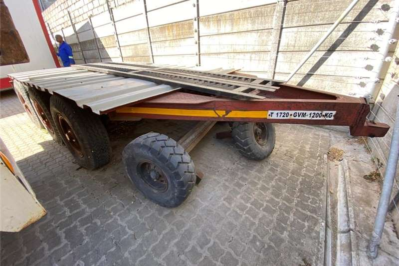 Carts and wagons Bogie Trailer Agricultural trailers