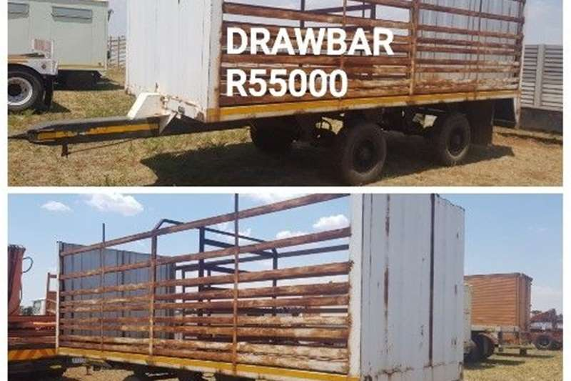 Carts and wagons DRAWBAR TRAILER Agricultural trailers