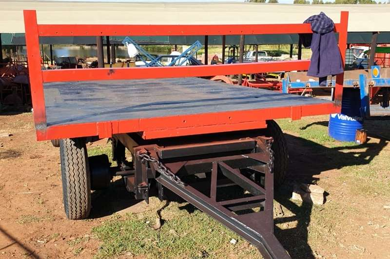 Carts and wagons farm trailer 4 wheel Agricultural trailers