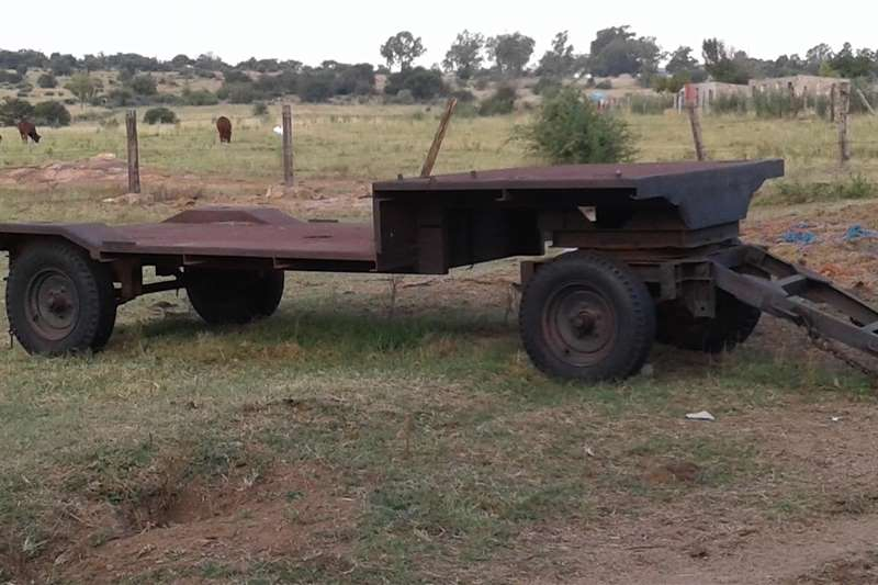 Agricultural trailers Carts and wagons Heavy duty trailer