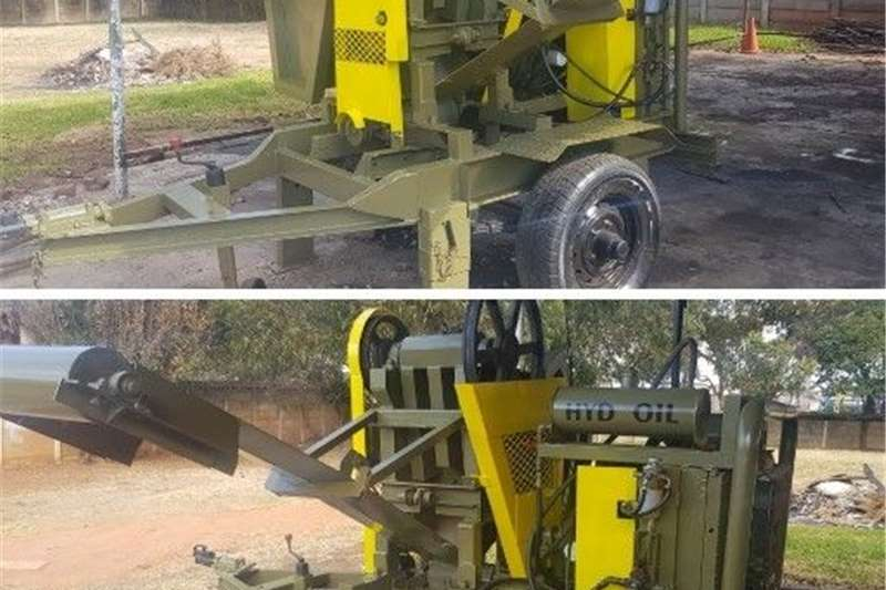 Carts and wagons MOBILE JAW CRUSHER Agricultural trailers