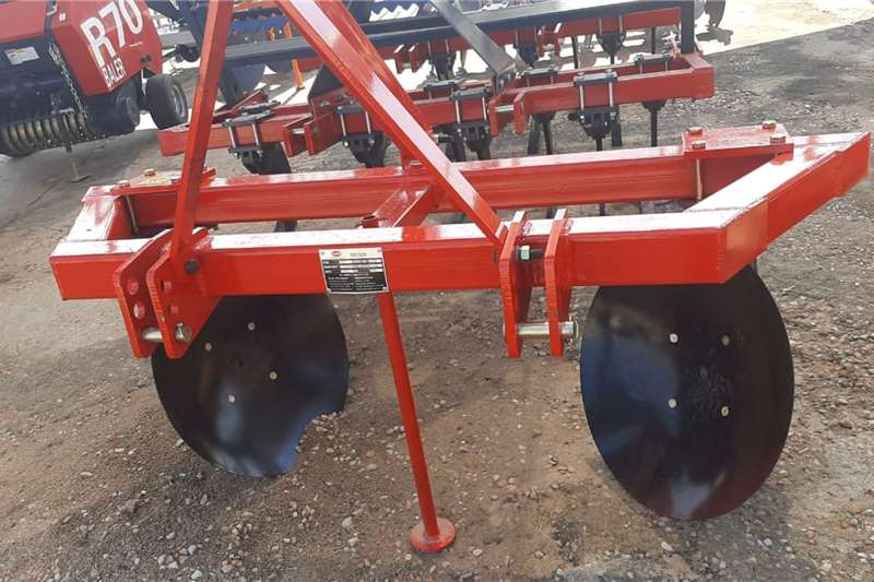 Carts and wagons Single Row 2 Disc Agricultural trailers