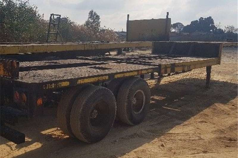 Carts and wagons STEPDEK LOWBED Agricultural trailers