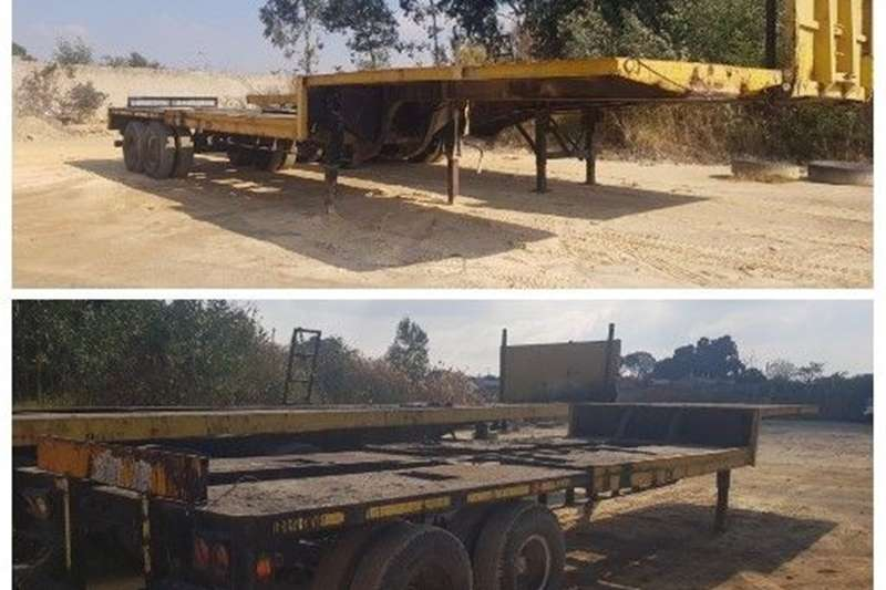 Carts and wagons STEPDEK TRAILER Agricultural trailers