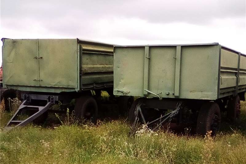 Agricultural trailers Carts and wagons Trailer 10 ton