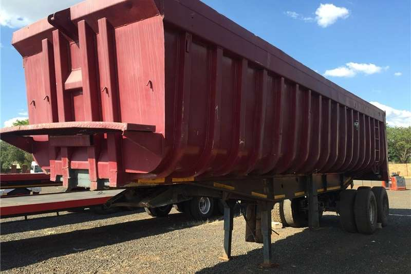 Agricultural trailers Carts and wagons U Make 20 Ton Tipper 30m3 Double Axle Pre Owned Tr