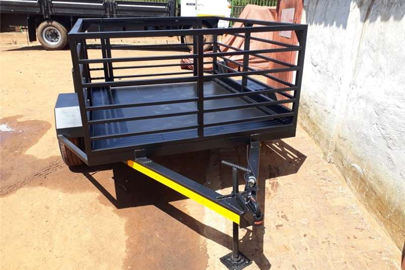 Agricultural trailers Carts and wagons utility trailer with railings