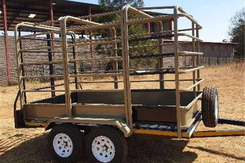 Agricultural trailers cattle trailer