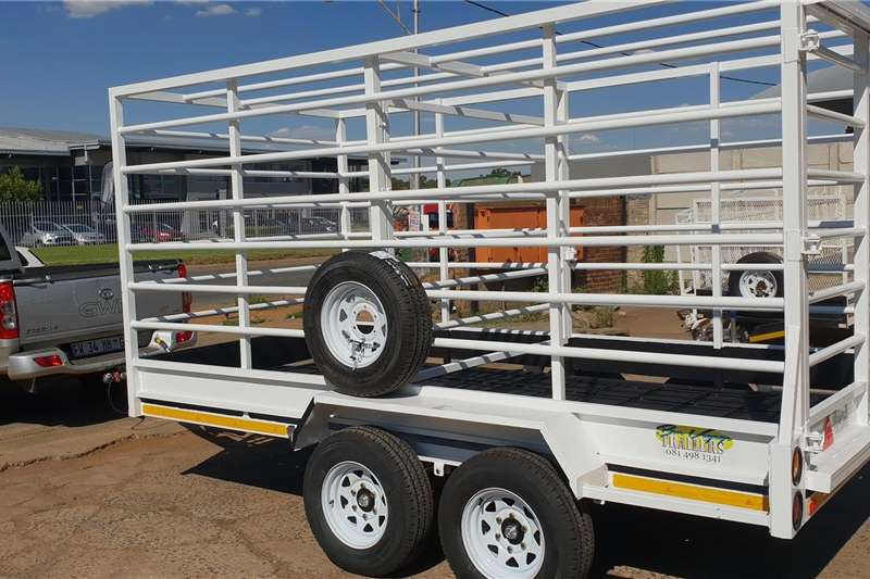 Agricultural trailers cattle trailer special