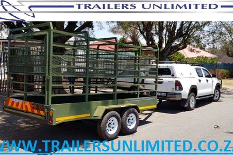 Agricultural trailers Cattle trailers 4500 X 1800 X 1800 CATTLE TRAILER. DOUBLE DECK. RE
